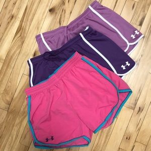 3 pair. Medium Under Armour shorts